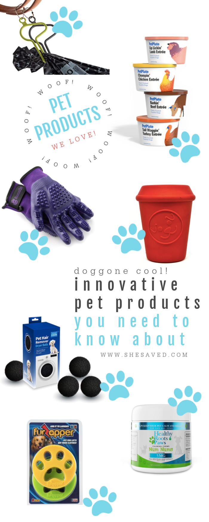 Different innovative pet products for dogs and cats
