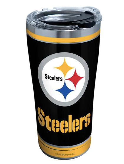 NFL Pittsburgh Steelers Touchdown Tervis Tumbler Gift for Dad