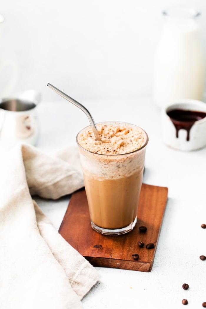 Make a copycat Starbucks Java Chip Drink