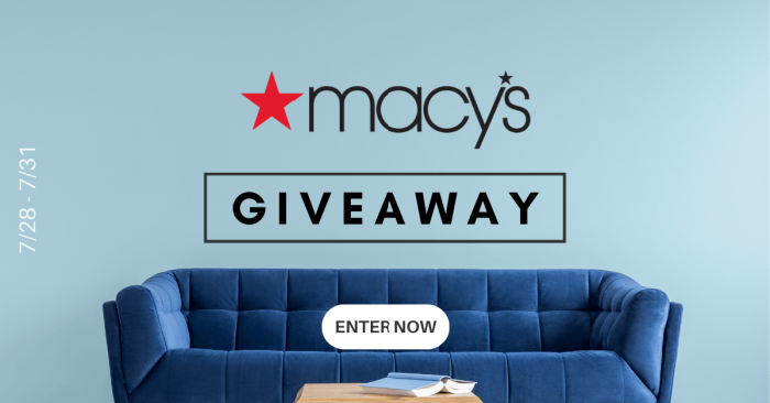Macy's Giveaway Logo