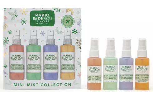 Bottles of Mario Badescu 4-Pc. Mini Mist Collection Set