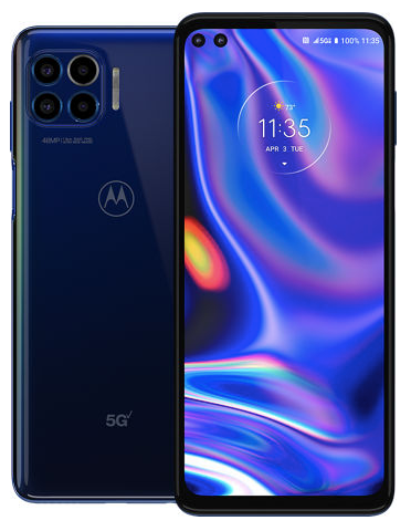 back and front of a motorola phone
