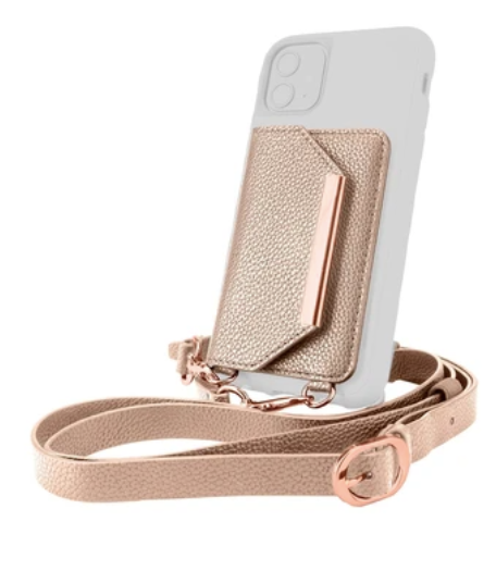 Wallet that sticks onto your phone to create a purse