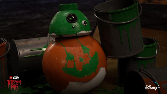 Starwars BB8 in Halloween Costume Hallowstream